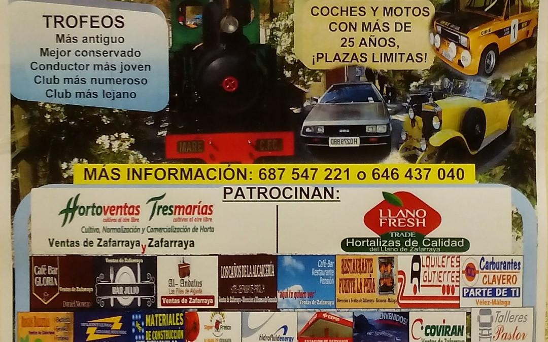 Patrocinador de la II Concentracion de Vehiculos clasicos y de epoca.