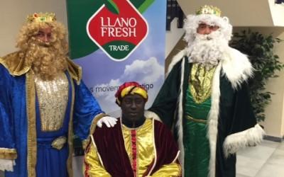 LLano Fresh participó en la pasada cabalgata de reyes