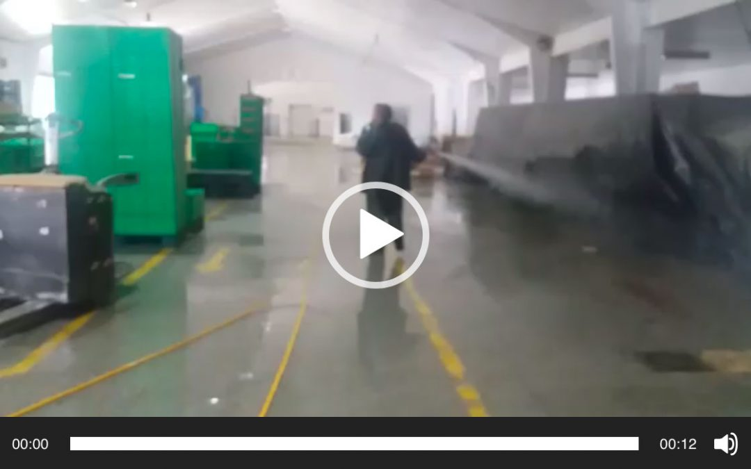 Desinfectando nuestras instalaciones